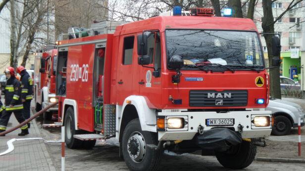 Pożar na Woli (zdjęcie ilustracyjne) Tomasz Zieliński / Tvnwarszawa.pl