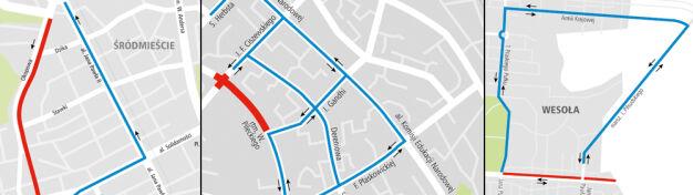 Trzy ulice idą do remontu. Objazdy na Woli, Ursynowie i w Wesołej