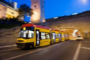 Nocą tramwaje nie pojadą Wolską
