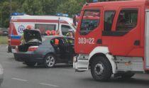 Trzy auta rozbite, jedna osoba ranna