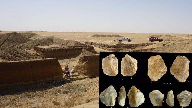 Sensacja w świecie archeologii. Odkryto najstarsze dotąd ślady człowieka we wschodniej Saharze