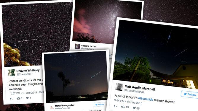 """Geminidy rozbłysły. Jest jeszcze chwila na podziwianie """"bogatego"""" roju meteorów"""
