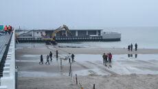 Wpływ wyżu Robin spowodował cofnięcie się Bałtyku o blisko 100 metrów