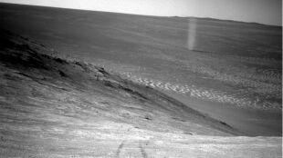 """""""Pyłowy diabeł"""" na Marsie"""