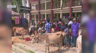 Ulewy dotknęły też Bangladesz