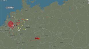 W części Polski występują burze