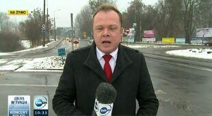 Warunki drogowe w woj. kujawsko-pomorskim (TVN24)