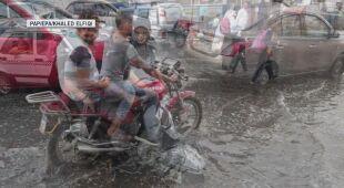 Gwałtowna pogoda w Egipcie